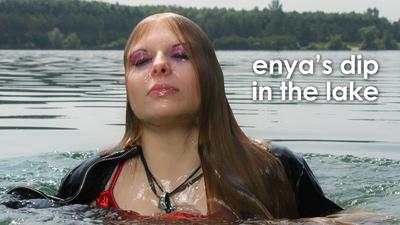 Enya takes a dip